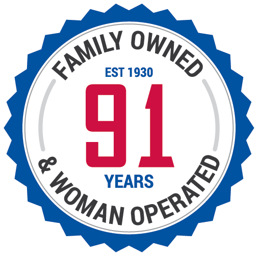 family owned and woman operated for 91 years